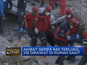 Gempa Turki Menewaskan 64 Orang