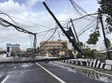 Porak-poranda, Potret Dahsyatnya Topan Goni Terjang Filipina