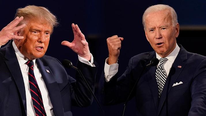 Cover Headline, Pilpres AS, Trump-Biden