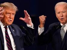Trump Mau 'Meledak', Biden Selangkah Lagi Menuju Puncak