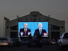 Trump Mau Meledak, 'Kiamat' Pilpres AS Terjadi?