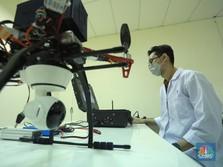 Ilmuwan RI Ini Ciptakan Drone Deteksi Jaga Jarak Covid-19