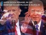 Andai Biden Jadi Presiden AS, Ini Deretan Saham Pilihan di RI