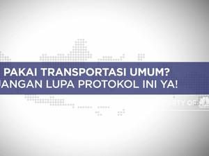Pakai Transportasi Umum? Jangan Lupa Protokol Kesehatan