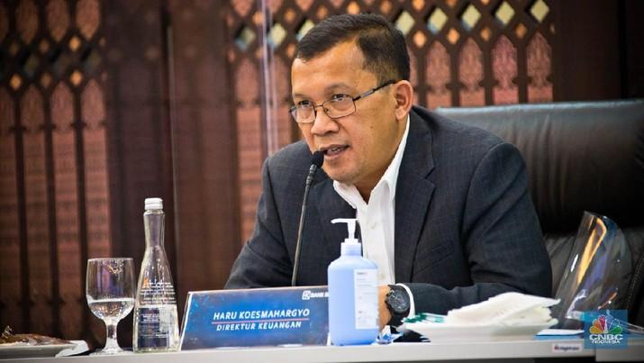 Direktur Keuangan Bank BRI Heru Koesmahargyo (Dok BRI)