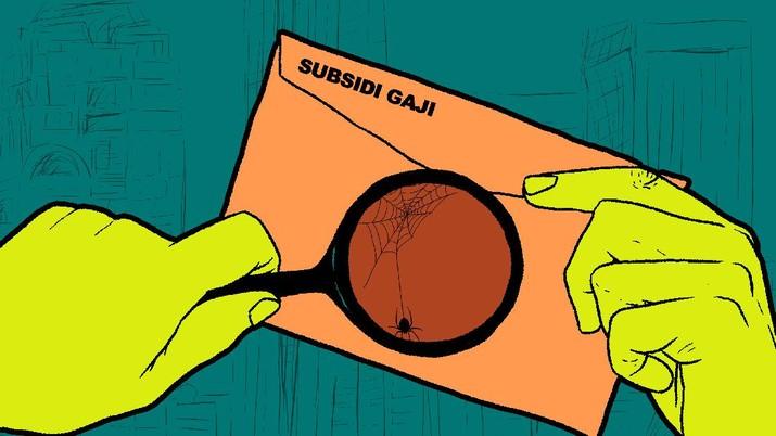 Infografis: Subsidi Gaji Bisa Gagal Cair Gara-Gara Masalah Remeh Ini