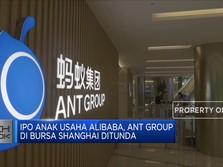 IPO Ant Group Ditunda, Saham Alibaba Anjlok