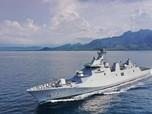 Ngeri! RI Punya Kapal Perang Perusak Baru Penjaga Lautan