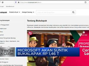 Microsoft akan Suntik Dana Rp 1,46 T ke Bukalapak