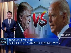 Pemilu AS Trump VS Biden, Siapa yang Lebih Market Friendly?