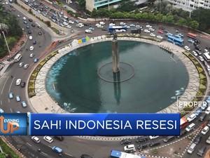 Sah! Indonesia Resesi