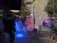 Panas! Begini Penampakan Kerusuhan Pilpres AS di New York
