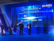 PTBA Raih Penghargaan BUMN dengan Strategi Pemasaran Terbaik