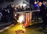 Bakar Bendera, Demonstrasi Pecah di Jalan Kota-kota AS