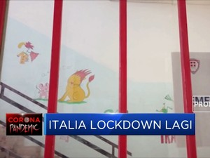 Italia Lockdown Lagi