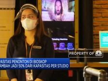 Jumlah Penonton Bioskop Ditambah 50% dari Kapasitas Studio