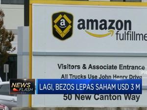 Lagi, Bezos Lepas Saham Amazon USD 3 M