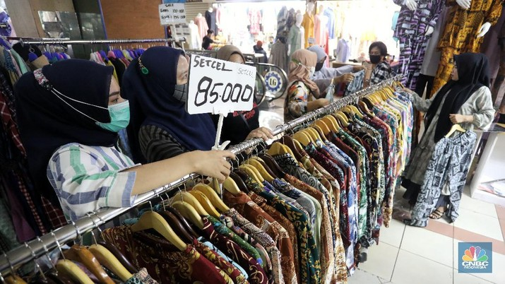 Pasar Tanah Abang (CNBC Indonesia/Andrean Kristianto)