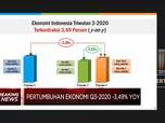 RI Resmi Resesi!  PDB Q3-2020 Terkontraksi 3,49%