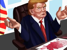 Donald Trump Tiba-Tiba Ngamuk Minta Hitung Suara Disetop!