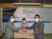 Anak Krakatau Steel Siap Pasok Air Bersih Buat Lotte Chemical