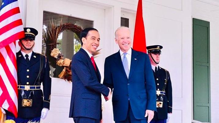 Jokowi dan Biden, Instagram @jokowi