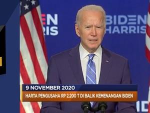 IKK Oktober Melempem Hingga Milyader Dibalik Kemenangan Biden