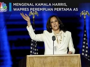 Mengenal Kamala Harris, Wapres Perempuan Pertama AS