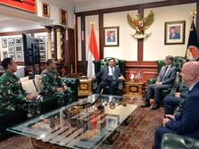 Dubes Inggris untuk RI Sowan Menhan Prabowo, Ada Apa?