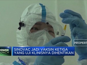 Brasil Setop Uji Klinis Vaksin Covid-19 Sinovac