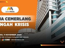 Bank Mega Buka-bukaan Kinerja Kuartal III-2020 yang Cemerlang