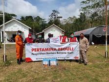 Pertamina Tambah Bantuan Pengungsian Gunung Merapi