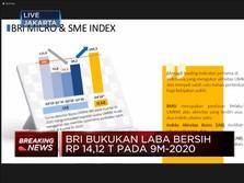 BRI Raup Laba Bersih Rp 14,12 Triliun Sepanjang 9M-2020