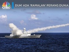 Duh! Ada 'Ramalan' Perang Dunia III, Laut China Selatan?