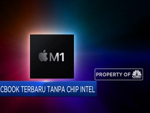 M1, Macbook Terbaru Tanpa Chip Intel