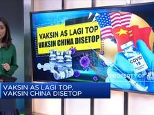 Vaksin AS Lagi Top, Vaksin China Disetop