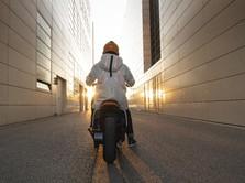 Futuristik! Melihat Wujud Skuter Listrik Canggih BMW Motorrad