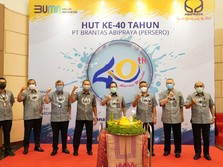 Walau Pandemi, Brantas Abipraya Semangat Rayakan HUT ke-40