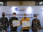 AXA Mandiri Jamin Asuransi Bagi 820 Crew Penerbangan TNI AD