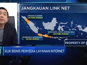 Link Net: Layanan Internet Catat Kenaikan 51% Saat Pandemi
