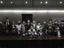 Again and Again.. Hong Kong Membara, AS-nya Trump Ancam China