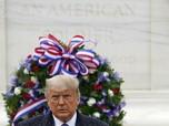 Melihat Penampakan Perdana Trump di Publik Usai Pilpres AS