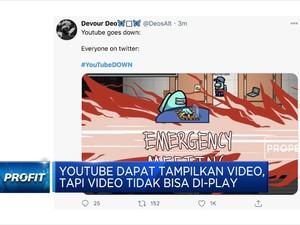 YouTube Down Jadi Trending Topic Nomor 1 di Twitter