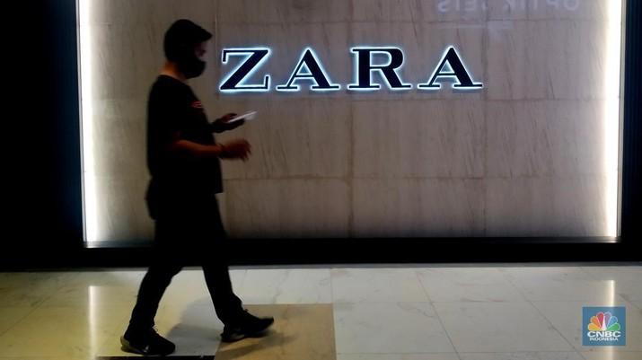 Zara (CNBC Indonesia/ Muhammad Sabki)