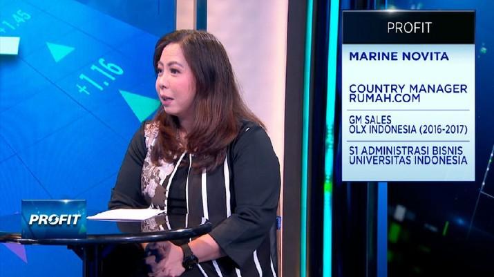 Country Manager Rumah.com Marine Novita