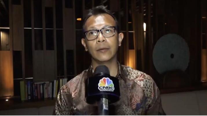 Direktur Mitras DUDI Ditjen Pendidikan Vokasi Kemendikbud, Ahmad Saufi (Tangkapan Layar)