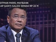 Hotman Paris: Maybank Siap Ganti Saldo Winda Rp 22 M