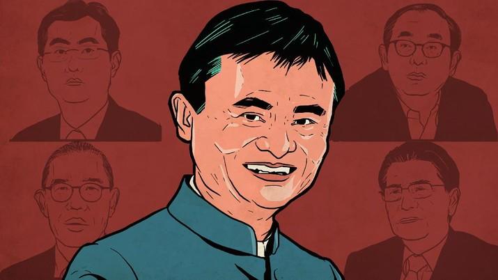 Infografis: Jack Ma Masih 'Kaisar' China, Ini 5 Crazy Rich Tirai Bambu