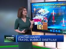 Jokowi Happy, Travel Bubble Disetujui