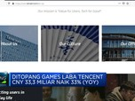Pandemi, Tencent Bukukan Pendapatan 45% (yoy)